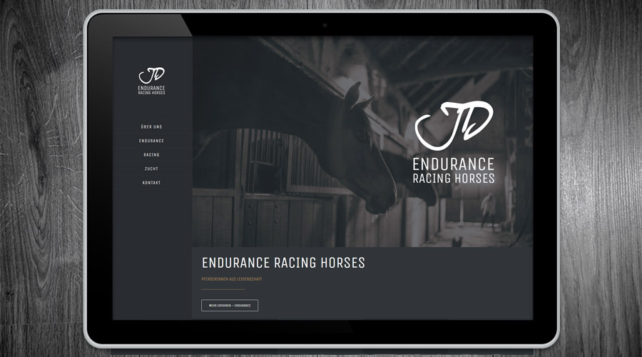 Endurance Racing Horses Webdesign Alfeld