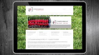 1. FC Eimsbüttel - Fussball Hamburg - Webdesign