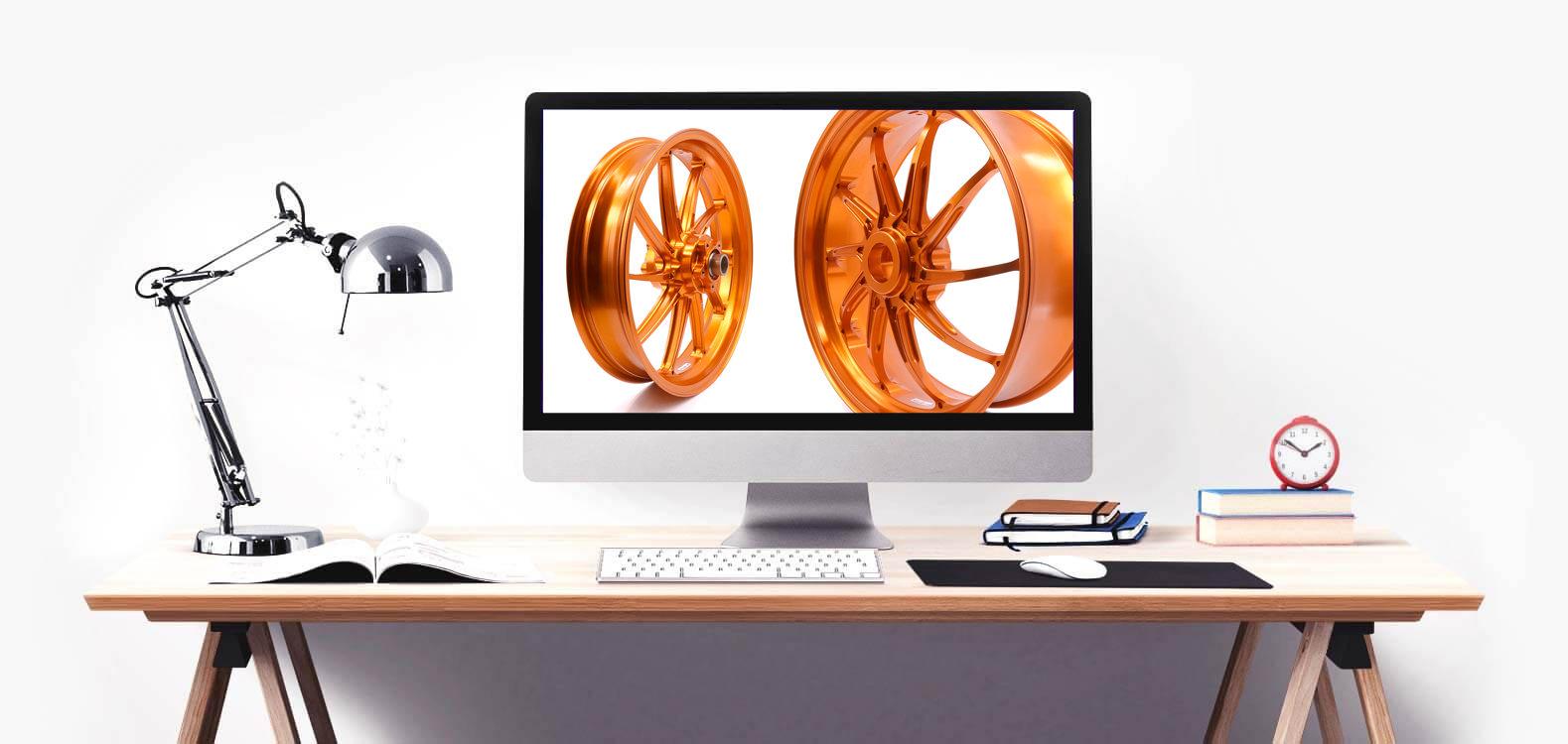 360 Grad Produktfotografie - Hamburg - Felgen PVM
