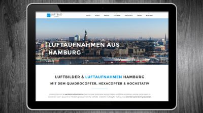 Luftbild Crew - Website SEO - Online Marketing Hamburg